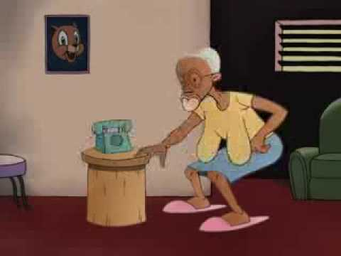 Angry Jamaican Granny