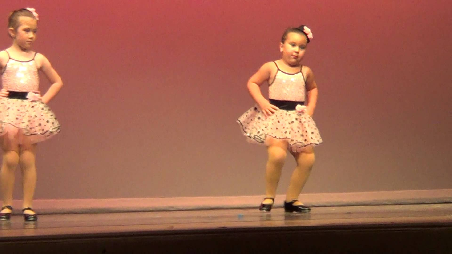 Cute girl dancing to Aretha Franklin