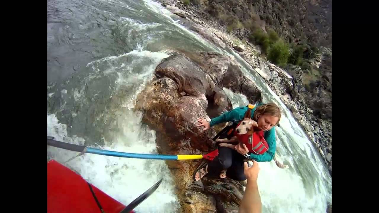 Incredible rafting rescue