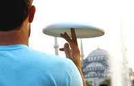 Epic frisbee vs football vs parcours battle