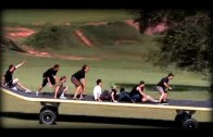 Giant skateboard?