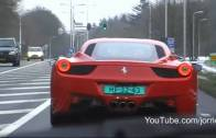 The new 2010 Ferrari 458 Italia