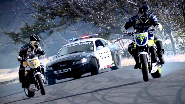 Motorcyclists vs cops compilation