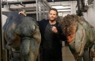 Ultimate dinosaur prank