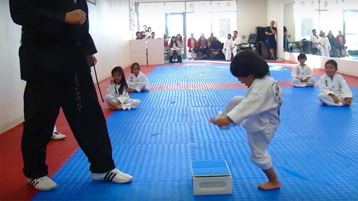 The most adorable Taekwondo fighter ever