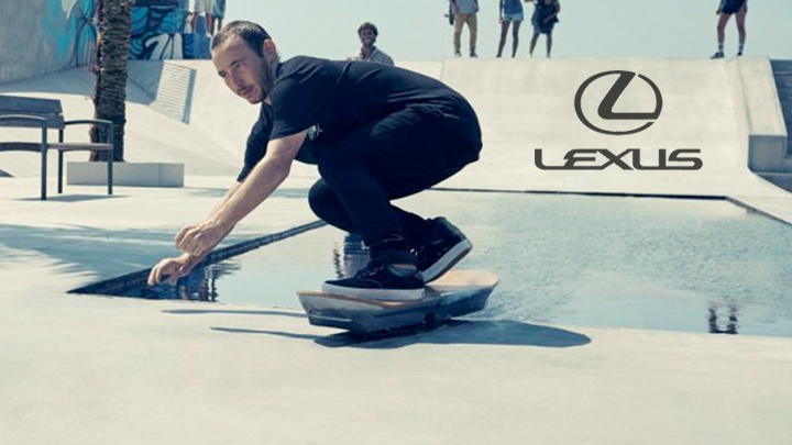 The Lexus Hoverboard is here
