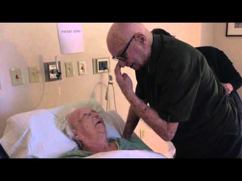 92 year old man sings to his dying wife (very emotional)