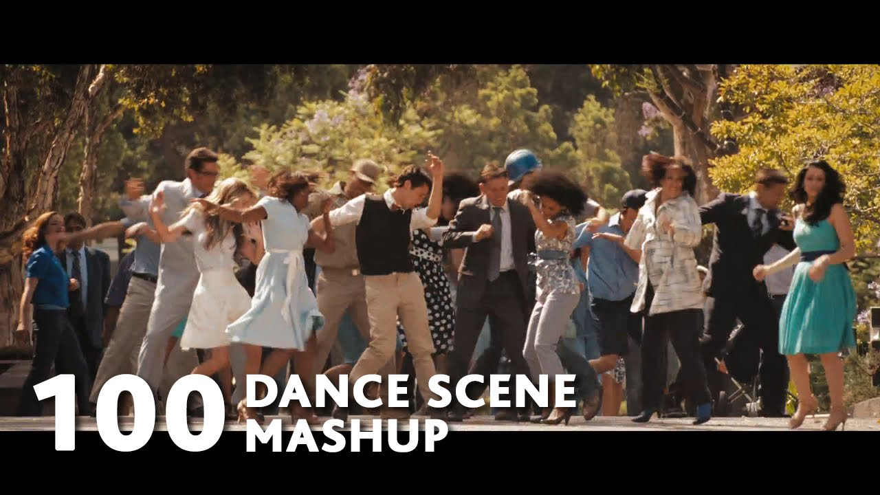 Dance moves from movies mashup