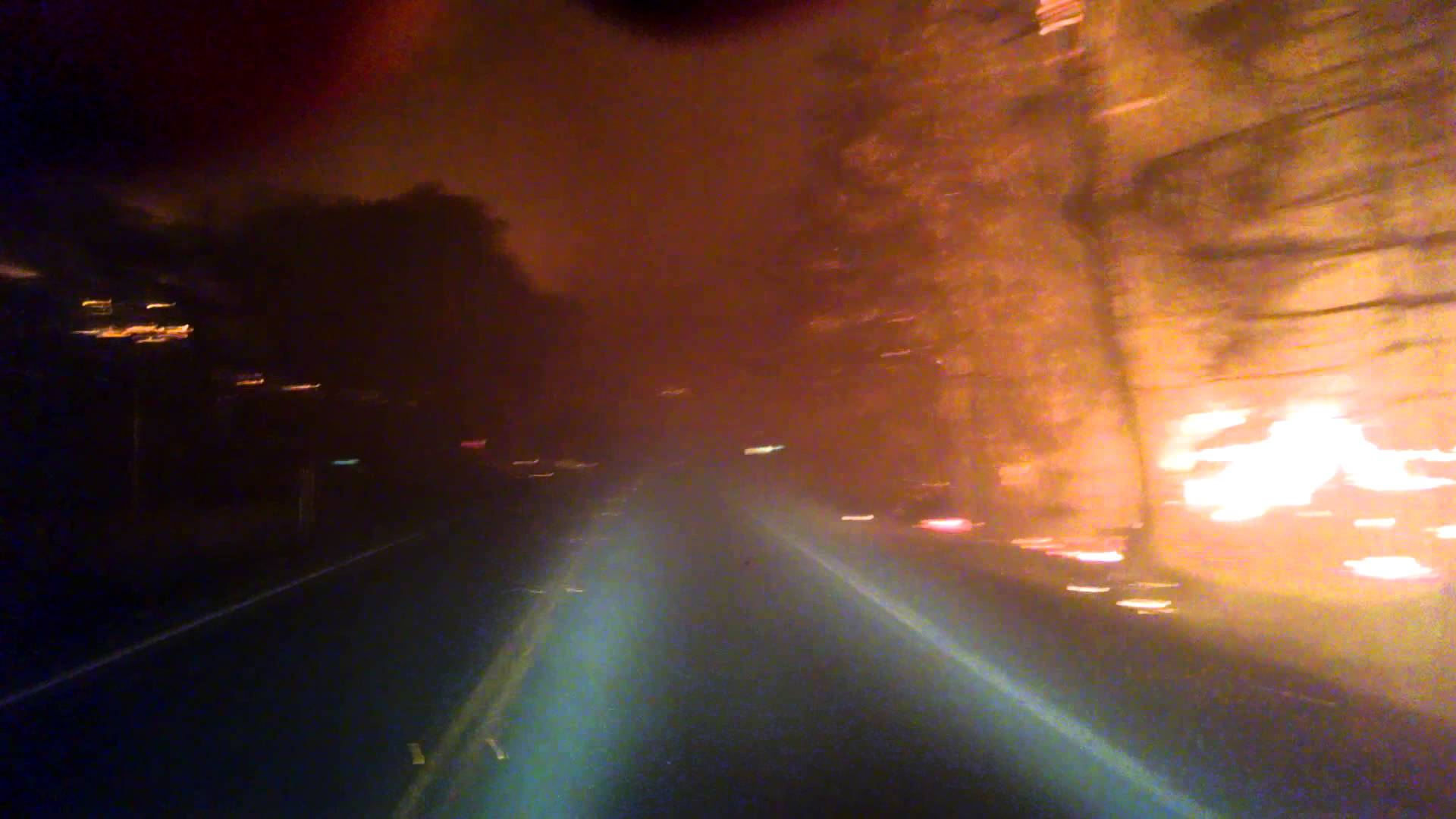 Escaping the Valley Fire