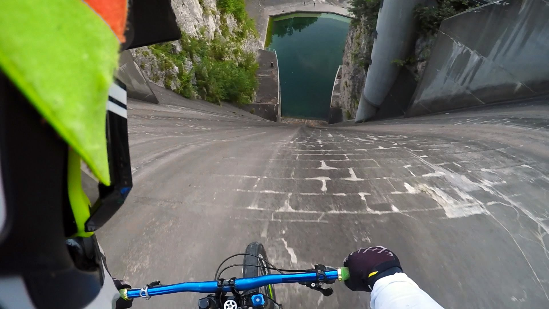 GoPro POV vertical biking