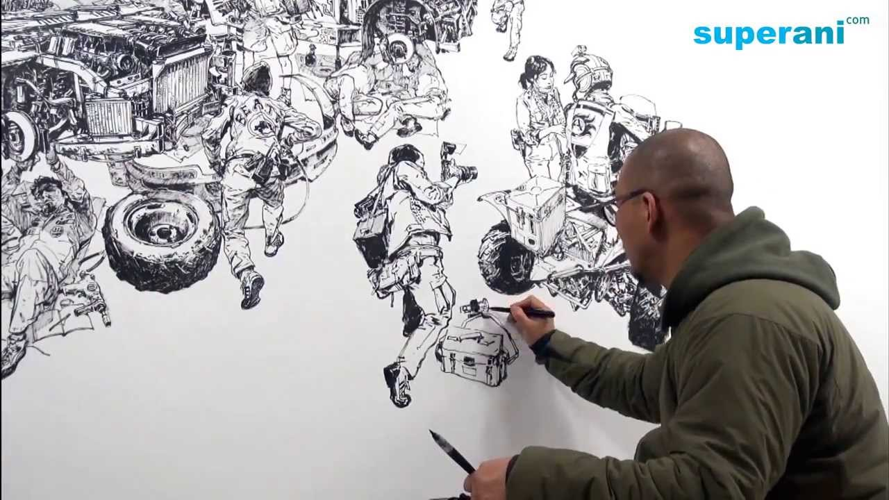 Incredible drawing show