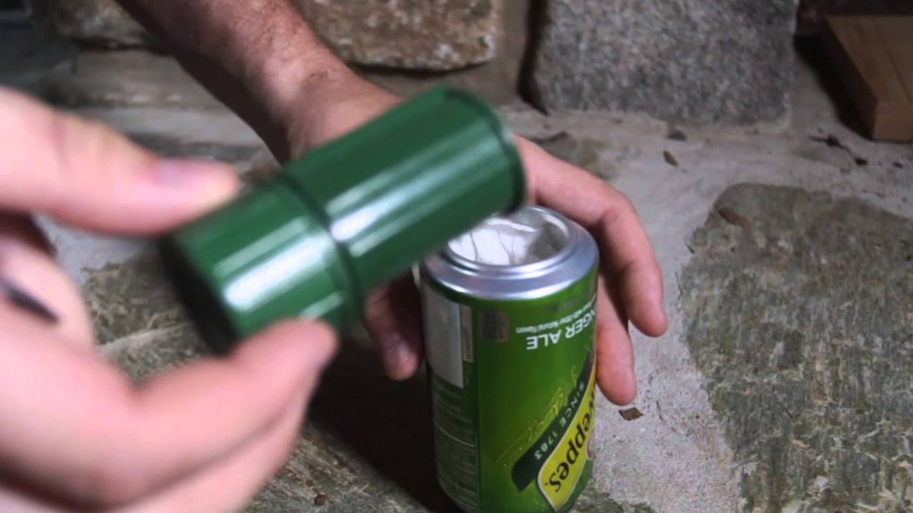 Soda can lifehacks