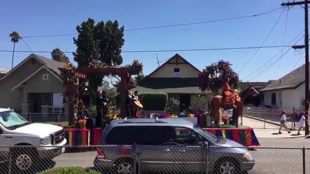 The mystery Mexican Float
