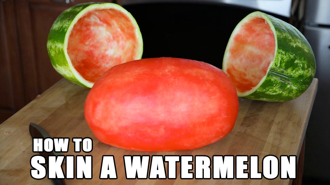Watermelon party trick