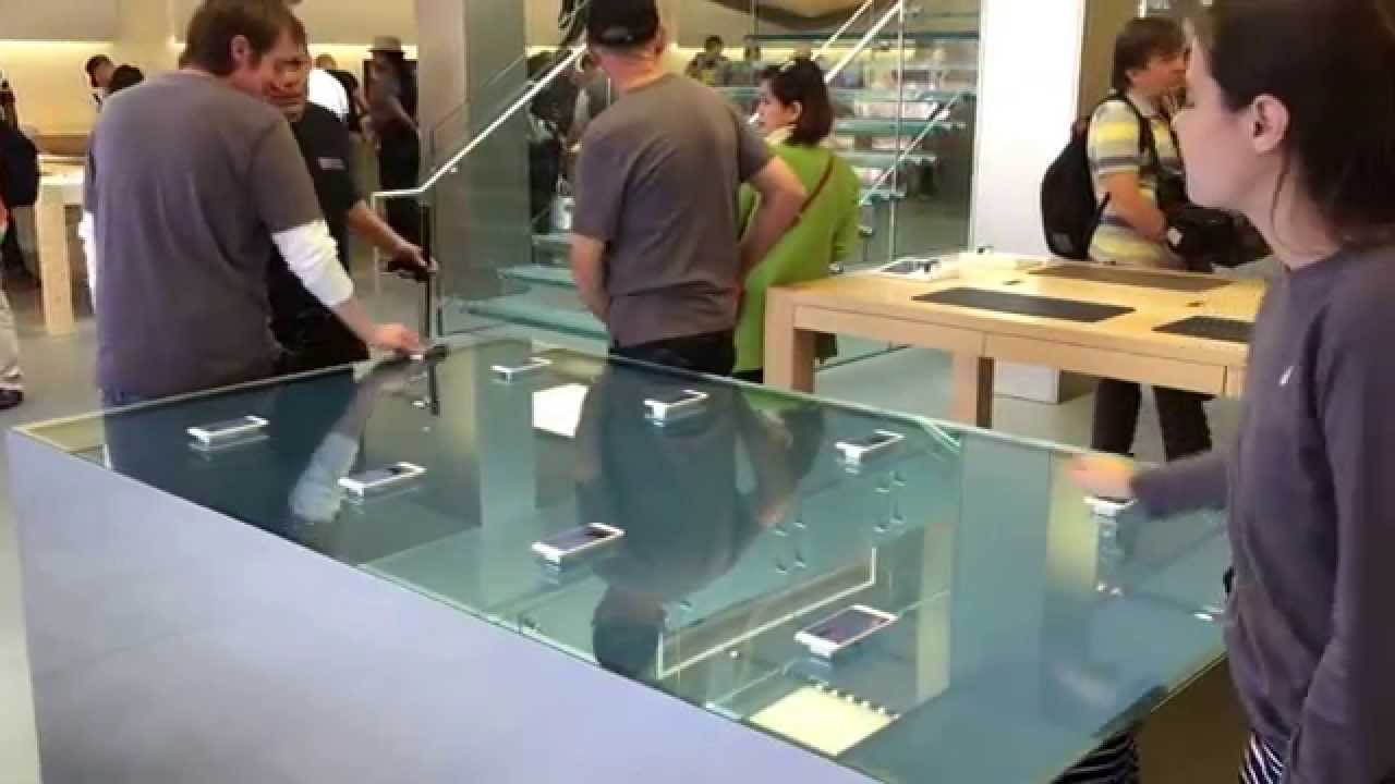 Apple force touch table
