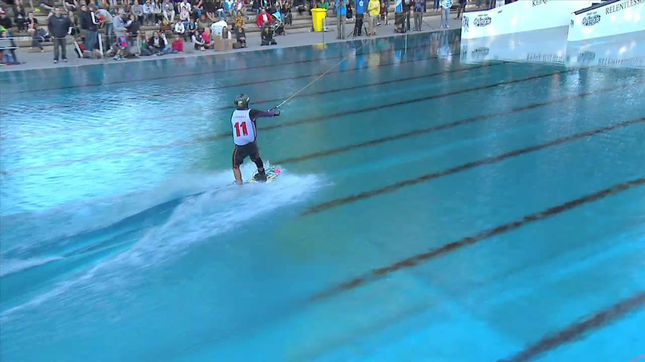 Impressive wakeboard skills