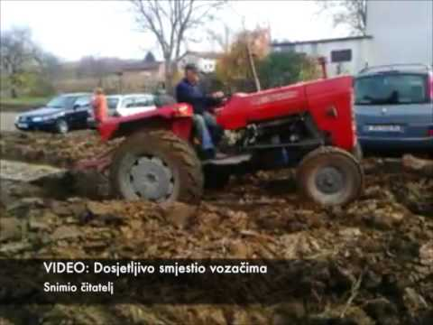 Angry Farmer in Croatia