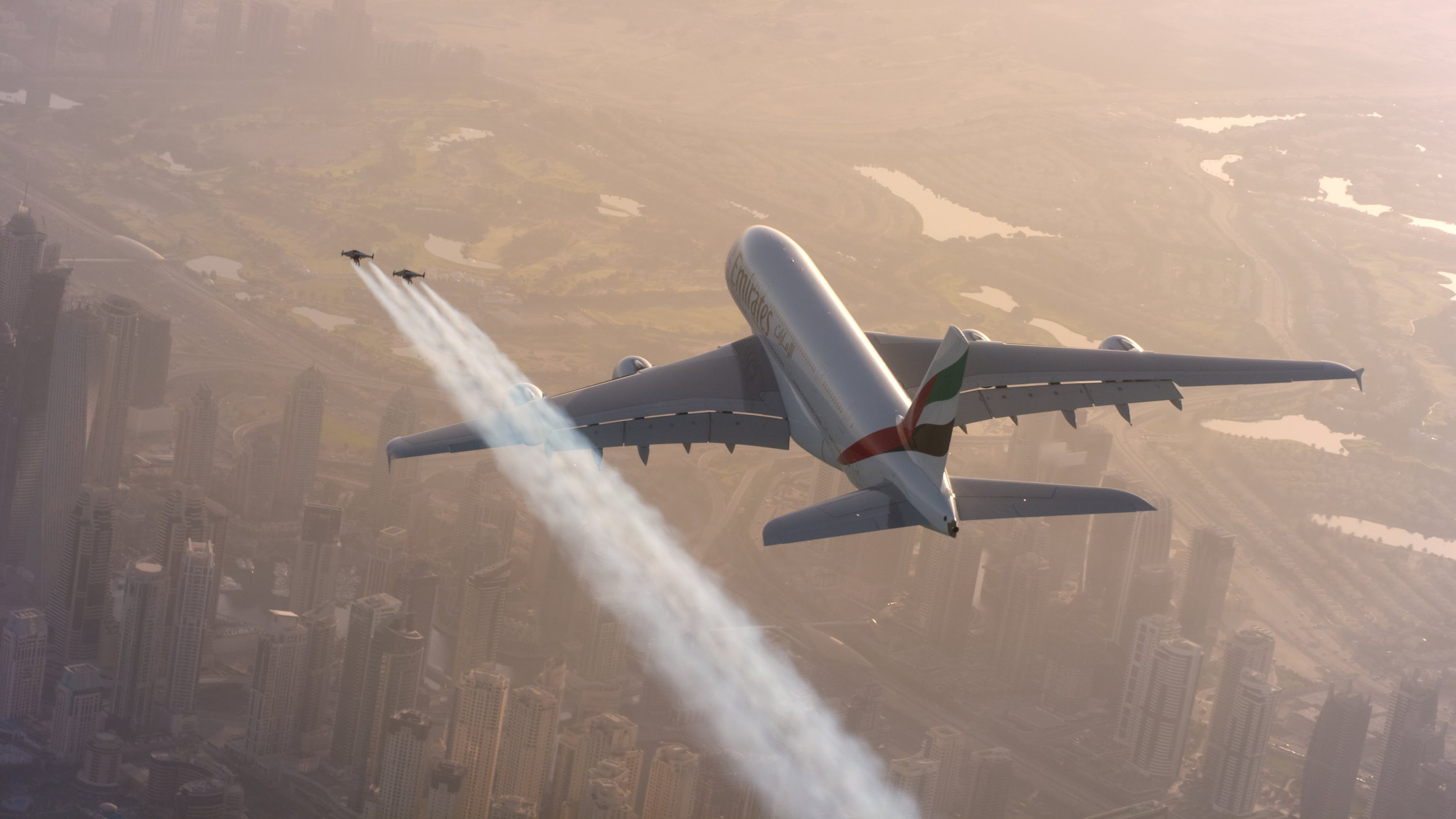 Awesome Jetman Dubai commercial