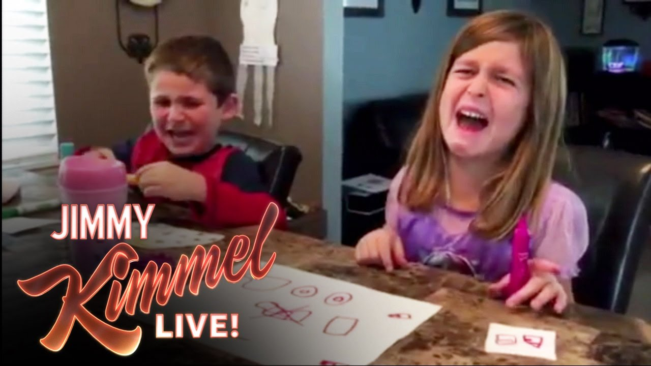 'I ate all your Halloween candy' Jimmy Kimmel Prank