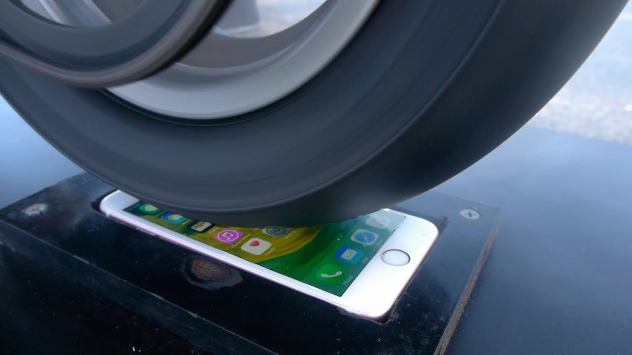 iPhone 6s burnout test