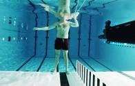 Underwater gun fire experiment