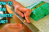 How to reseal plastic bags life hack