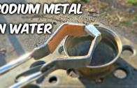 Sodium Metal vs Water experiment