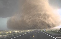 Close Up Tornado Footage