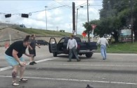 Houston road rage incident