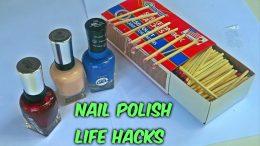 Nail polish lifehacks put to the test