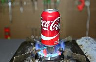 Science experiments with a soda can
