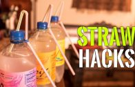 Super awesome lifehacks with straws