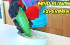 Kick-ass vacuum experiment