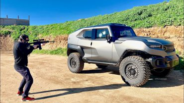 Is the Rezvani Tank Bullet Proof?