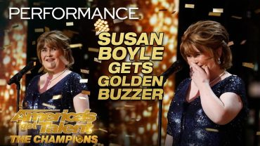 Susan Boyle returns with a new amazing performance