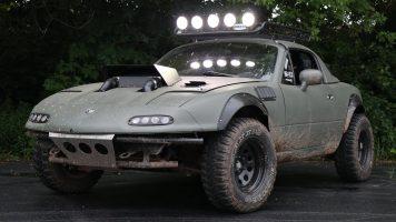 Superchargerd Offroad Mazda Miata